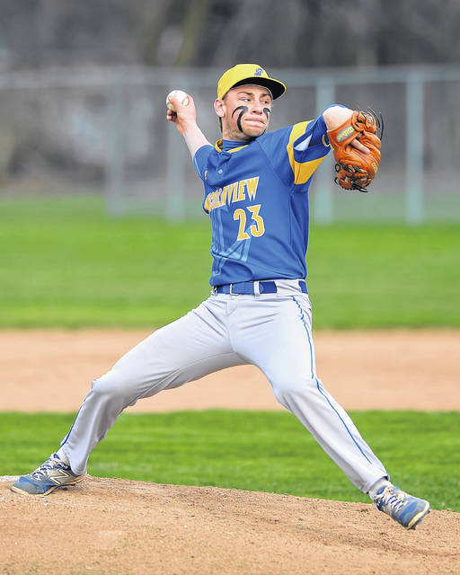 Lincolnview's Jaden Youtsey threw 88 pitches, 61 for strikes in Thursday's 4-0 victory at Columbus Grove.