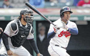 Ramirez, Bauers get key hits as Indians beat Marlins 6-2