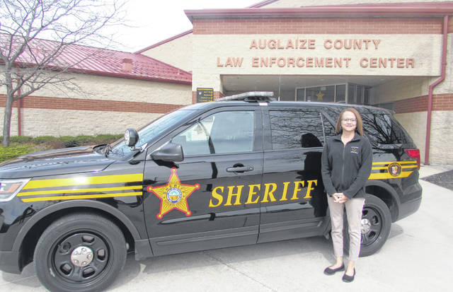 Lisa Wright, an Auglaize County Sheriff's Office captain, has worked her way up the chain in the department, starting as a corrections officer.