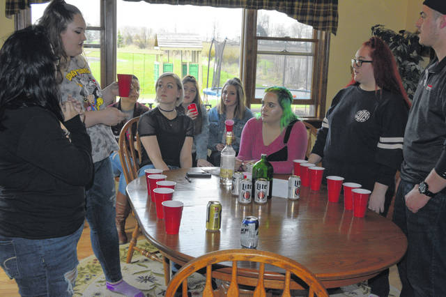 Students from Bath and Allen East High Schools teamed up for the Reality Party where they portray what happens at teen parties when alcohol is involved.