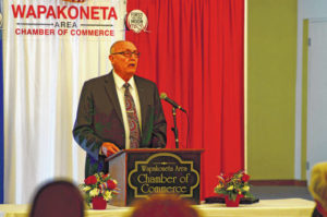 Wapak leaders review 'state of' governments