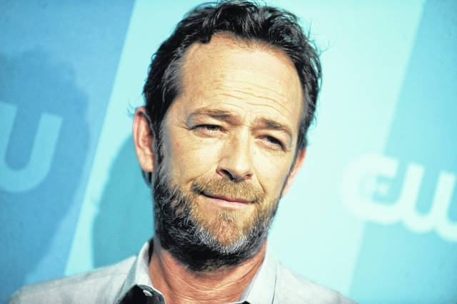 Luke Perry attending the CW Upfront in New York on May 18, 2017.