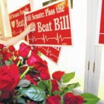 Activist behind anti-abortion heartbeat bill not at signing