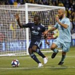 Crew unable to extend Timbers' losing streak