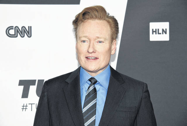 """Conan O'Brien, shown here in May 2018, agreed to settle a lawsuit with a writer who says the talk-show host stole jokes from his Twitter feed and blog for O'Brien's monologue on """"Conan."""""""