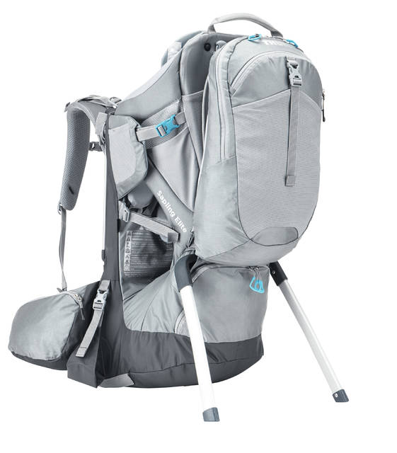 Thule's Sapling Elite child carrier safely and comfortably carries your precious cargo while on the trail and effortlessly transitions between parents with simple torso and hipbelt adjustments. And with premium features like a child viewing mirror, removable backpack and roomy hipbelt pockets, you and your child will never want to leave the trail.