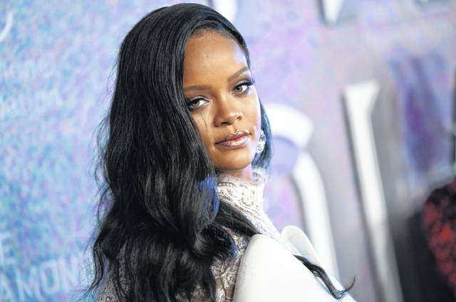 Rihanna attends the 4th annual Diamond Ball at Cipriani Wall Street in New York on Sept. 13, 2018. Rihanna is partnering with LVMH Moët Hennessy Louis Vuitton to launch a new fashion label. A new line called Fenty will debut this spring and will be based in Paris.