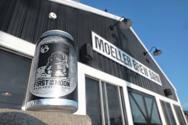 Moeller Brew Barn in Maria Stein has released a special edition First on the Moon Pale Ale to commemorate the 50-year anniversary of the Apollo 11 moon landing.