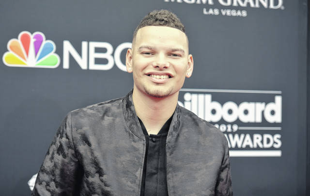 Kane Brown arrives at the Billboard Music Awards on Wednesday, May 1, 2019, at the MGM Grand Garden Arena in Las Vegas. (Photo by Richard Shotwell/Invision/AP)