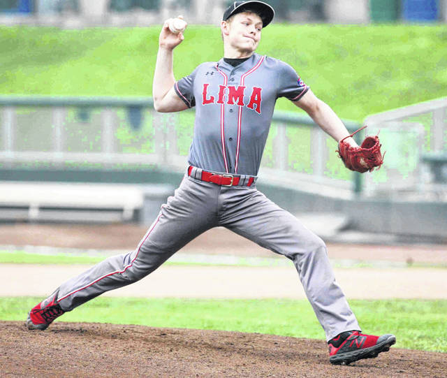 Lima Senior pitcher Bryce Binkley was named most valuable player of the annual Scott Harmon/Tyler Williams Memorial game after recording the win Saturday against Elida at Dayton's Fifth-Third Field.