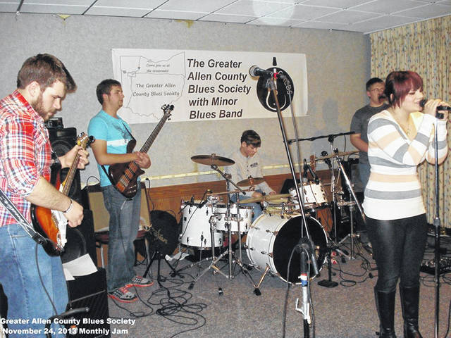 The Greater Allen County Blues Society continues to perform jams similar to those pictured from 2017. It has its Blueusfest 2019 planned Saturday at the Ohio Theatre in Lima.