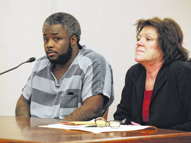 Brandon Thompson, who is a mere six weeks from going on trial on charges of involuntary manslaughter, told Allen County Common Pleas Court Judge Jeffrey Reed on Thursday that his has received inffective legal counsel from Attorney Athena Nyers, shown at right.