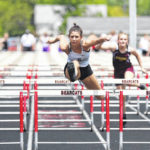 Track and field: Spencerville's Burden shines at district meet