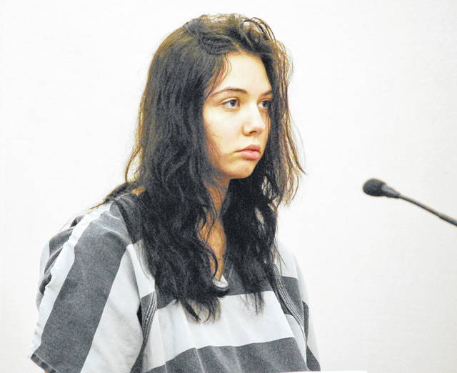 Diamond Osborne, 19, of Lima, on Thursday was ruled incompetent to stand trial on a charge of felonious assault for stabbing her aunt earlier this year at a Holmes Avenue residence.