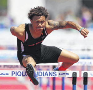 High school track and field: Elida's Spivey hurdles to state