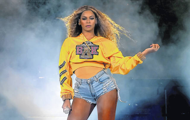 Beyonce Knowles performs onstage during 2018 Coachella Valley Music And Arts Festival Weekend 1 at the Empire Polo Field on April 14, 2018 in Indio, California.  (Kevin Winter/Getty Images for Coachella/TNS) *FOR USE WITH THIS STORY ONLY*