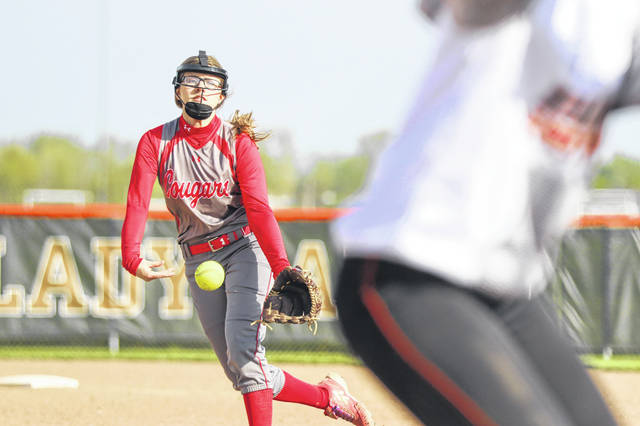 Van Wert's Lauren Moore threw a five-inning shutout Tuesday at Elida in a Division II sectional opener.