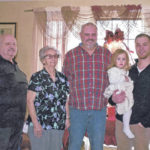 Five generations: Piercefield family