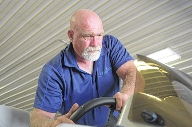 Kevin Mast has seen his marina business come back since the algae blooms of 2010.