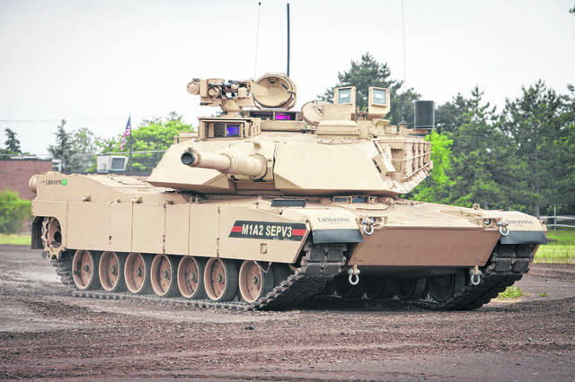 The Abrams M1A2 SEPv3 is the latest iteration of the Abrams tank built at the Joint Systems Manufacturing Center in Lima.