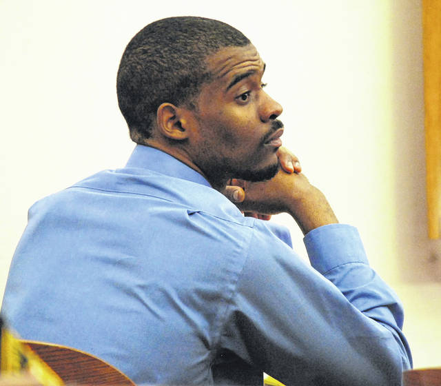 Jarvis Killington showed no emotion as a jury returned guilty verdicts of robbery and kidnapping against him Friday. He was sentenced to 17 years in prison for robbing a Lima couple at gunpoint earlier this year.