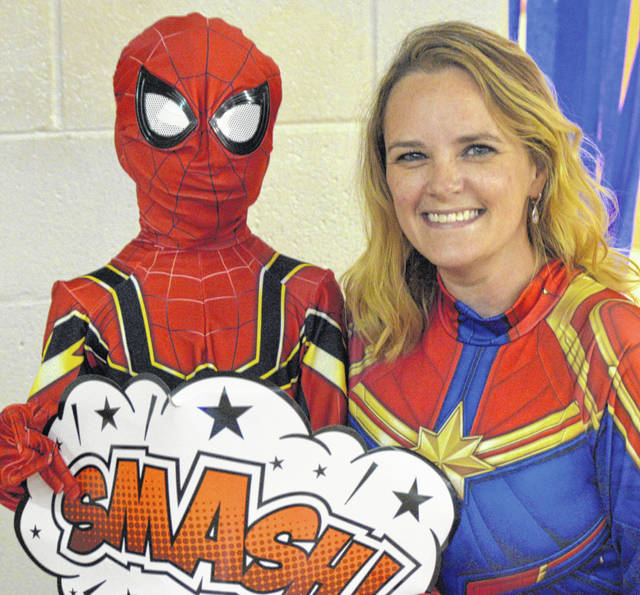 Mothers and sons enjoy Super Hero Party - The Lima News