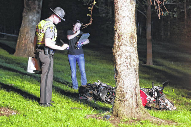 Two die in motorcycle crash in Allen County - The Lima News