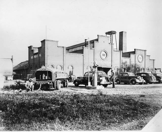 Neon Products Inc. was located across the street to the east in buildings that originally held the old Lima Brewery and the Gramm-Bernstein Motor Truck Co.