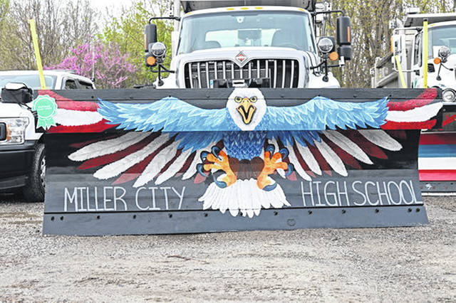 Miller City High School was named the overall ODOT choice winner in ODOT District 1's annual Paint the Plow contest.