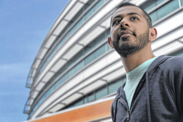 Poojan Shah, a mechanical engineering major, wants job security and flexibility in his career, so he's going to work this fall at Northrop Grumman, which offers a rotational program for new hires to try out different departments and decide what they like.