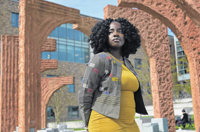 Anna Gifty Opoku-Agyeman, a 22-year-old math major, acknowledges that her generation, Gen Z, isn't afraid to say what's on its mind and confront what it sees as problems.