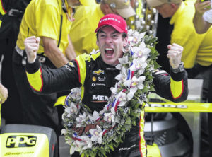 Pagenaud holds off Rossi and pressure to win Indy 500