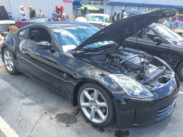 Ryan Combs, of Lima, was inspired to buy this 2007 Nissan 350Z after playing with a similar model in video games in his younger days.