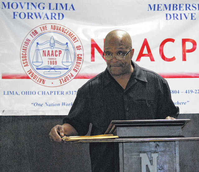 Ron Fails, president of the Lima chapter of the NAACP, announced Friday that the organization intends to file a complaint with the Ohio Public Defenders' Office against the Allen County Public Defenders' Office for allegedly not upholding the constitutional rights of indigent criminal defendants.