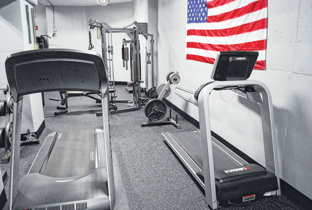 New equipment, new flooring and a new coat of paint have created a brighter atmospher in the workout area of the sheriff's office.