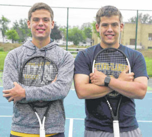 Boys high school tennis: Ottawa-Glandorf's Welch twins prepare for state