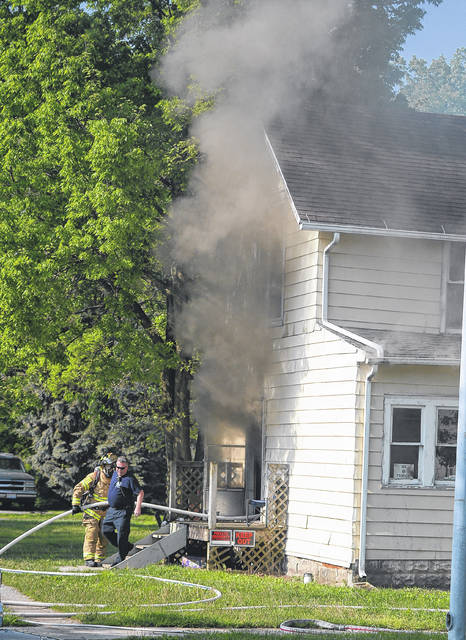 A fire Thursday morning at 715 W. Eureka St., Lima, caused an estimated $15,000 damage.