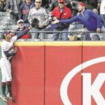 Indians fall 5-3 to Athletics