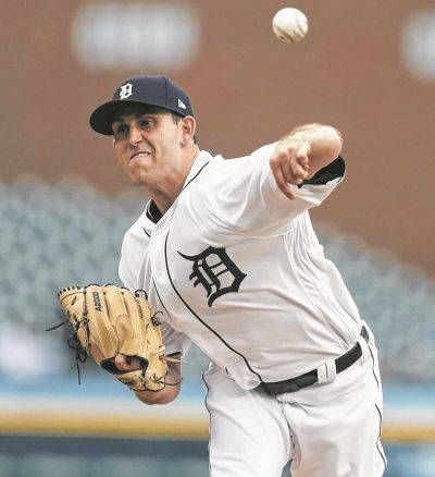 Tigers starting pitcher Matthew Boyd allowed two runs and five hits in seven innings in a 4-3 victory against Friday night against Kansas City in Detroit.
