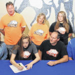 Allen East's Newland signs to play at Ohio Northern