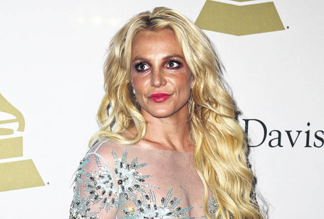 Britney Spears appears at the Clive Davis and The Recording Academy Pre-Grammy Gala in Beverly Hills, Calif., in February 2017. The conservatorship that runs Britney Spears' affairs has sued a man who runs a Spears-themed blog for defamation. The lawsuit alleges that Anthony Elia, who writes the blog Absolute Britney, falsely claimed that the conservatorship, which is run by Spears' father Jamie, was manipulating her Instagram account to make her appear more troubled and in need of help than she actually is.