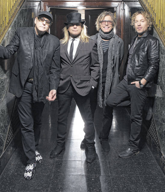 Cheap Trick will be in concert Wednesday at Veterans Memorial Civic Center.