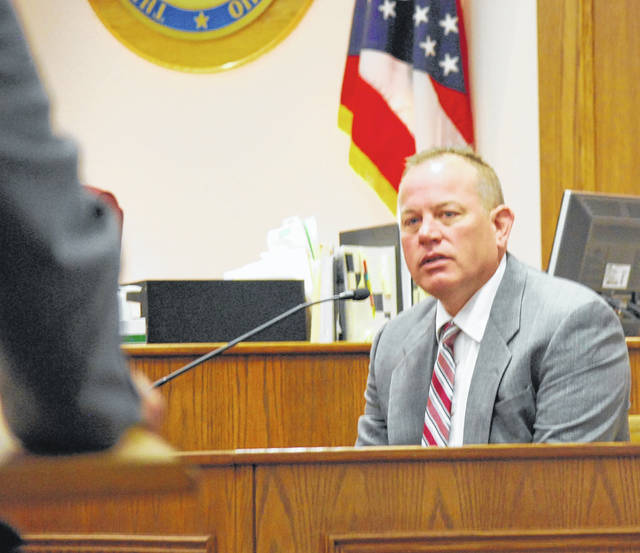 Lima Police Department Det. Kent Miller testified Wednesday in the murder trial of Tennessee resident Clois Ray Adkins.