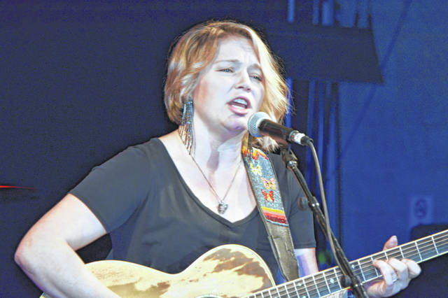 Crystal Bowersox of American Idol fame performed at Lima's Civic Center Wednesday night as part of the kickoff for the free Summer Concert Series.