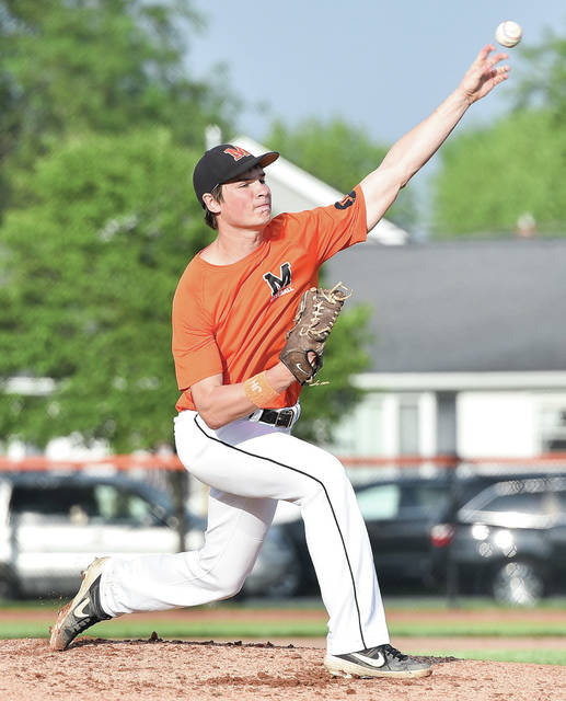 Minster's Jack Heitbrink is 6-2 with a 1.30 ERA this season.