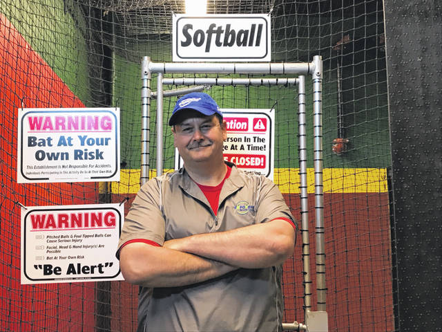 Jamey Skinner, founder of Empowered Sports Lima, was inspired to open his own indoor athletic center after searching for a batting range for his daughter, Emma.