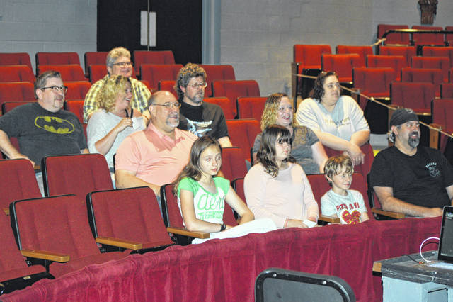 """Movie-goers in Lima had the chance Saturday to sample some locally made movies, such as """"Slingbat"""" and """"Spiderman: Origins,"""" during an event at the Encore Theatre."""