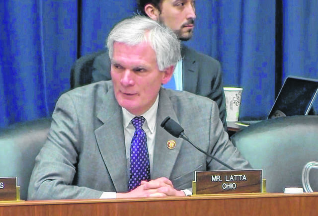 U.S. Rep. Bob Latta, R-Bowling Green, speaks during a committee hearing.