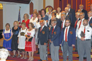 Event notes Armstrong's German heritage, musical acumen