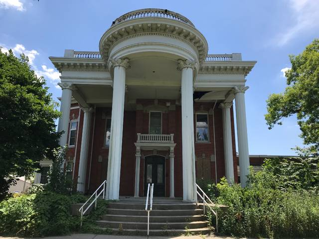 New Lima Housing for the Future plans to build a new senior housing community at the old YWCA property, home to the Hughes-Russell Mansion. Mackenzi Klemann | Lima News.